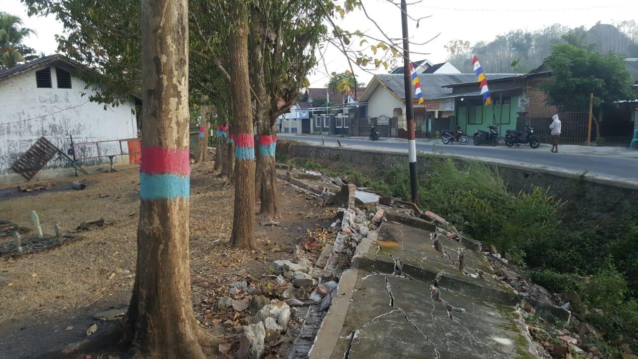 Perbaikan Kerusakan Akibat Gempa 6,9 SR